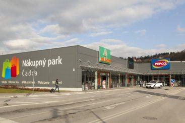 nákupný park čadca