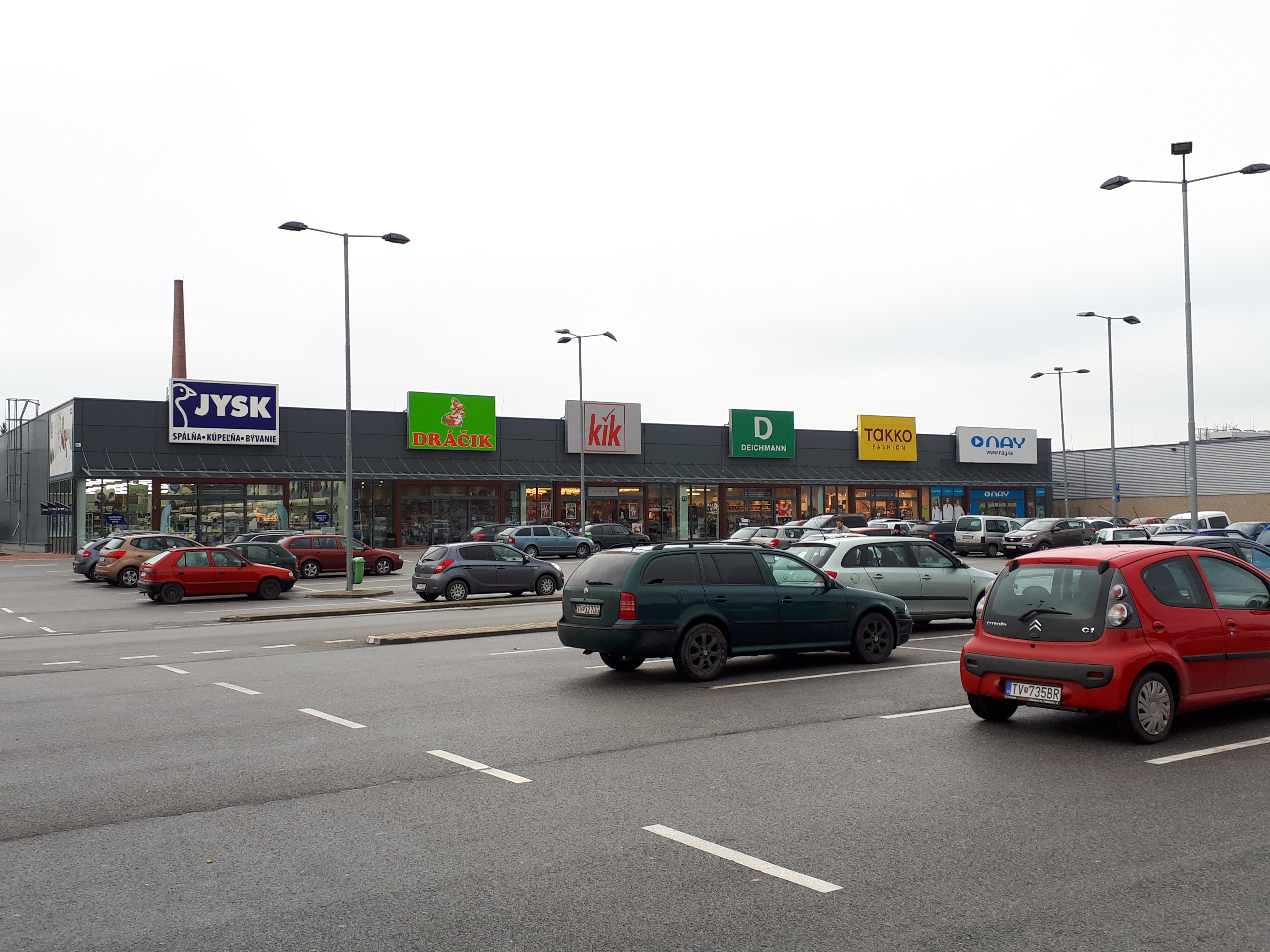 7bcc2b61aaab8 Obchodná galéria Naša v Košiciach